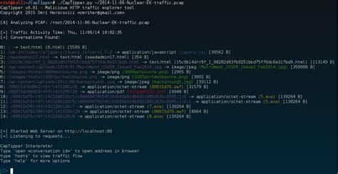 nmap python tutorial github omriher captipper malicious http traffic explorer