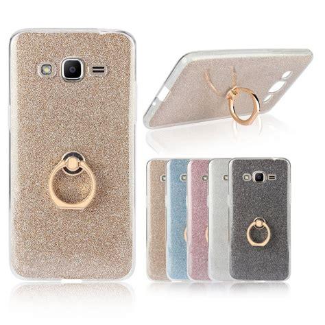 Casing Samsung Galaxy J2 Prime Ipaky Carbon Soft Series Jgcs01 Omega para samsung galaxy j2 prime transparente tpu caso suave brillo anillo de metal caso de la