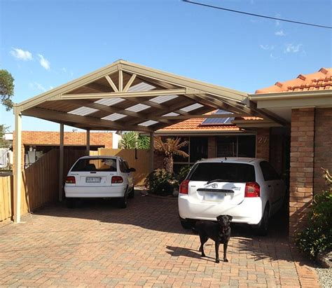 Outside Carport How Do You Create A Gable Roof Carport In A Triangular