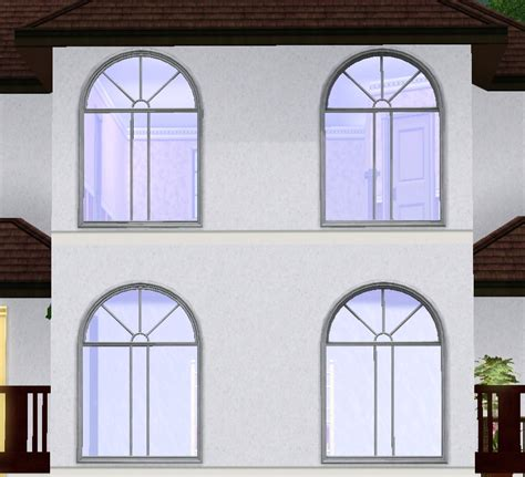 Colonial Style Windows Inspiration Mod The Sims Colonial Window Styles