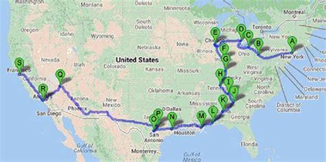 megabus usa route map how to plan a usa megatrip on megabus