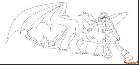 useful photo collection of toothless coloring page