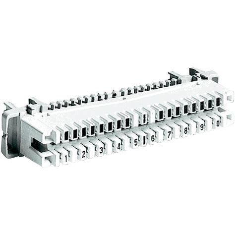 Lsa Plus Krone adc krone 6089 1 121 01 lsa plus pins series 2 disconnect pin with colour code white from conrad