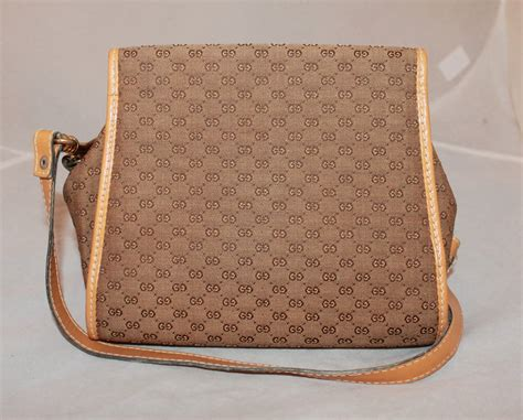 gucci vintage monogram handbag  strap  sale  stdibs