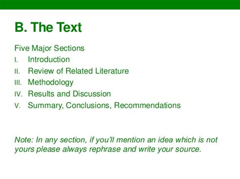 sections of a thesis writing thesis chapters 1 3 guidelines