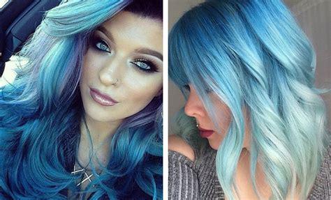 blue hair color ideas  daring women stayglam