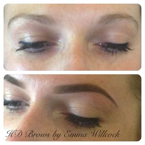 tattoo hd brows hd brows by emma willcock before after hair beauty
