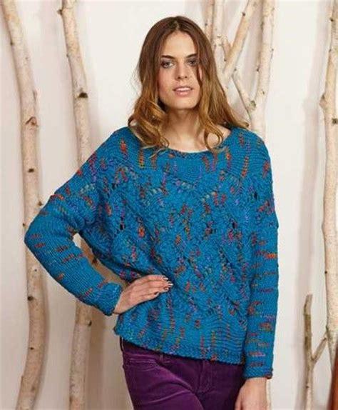 lace jumper knitting pattern schachenmayr lova lace sweater free knitting pattern