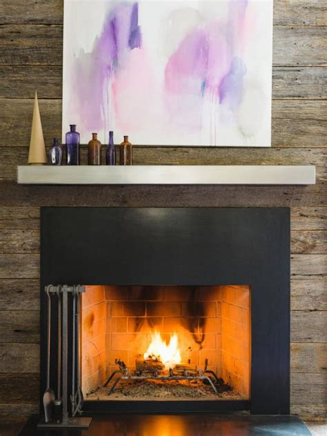 floating steel mantel hgtv
