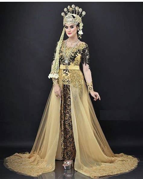 kebaya modern adat sunda 9 model baju pengantin adat sunda modern dan elegan