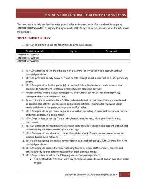 children s contract template 17 best ideas about social contract on