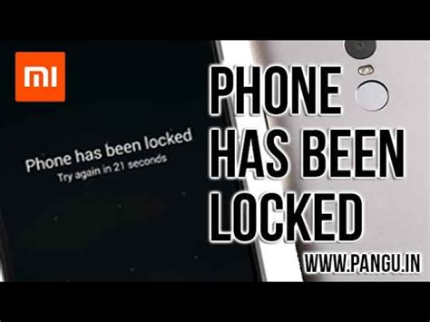 pattern lock mi note 4 mi note 4 note 3 how to unlock pattern lock password