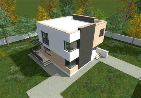 cheap flat roof house plans 3 economical choices houz buzz