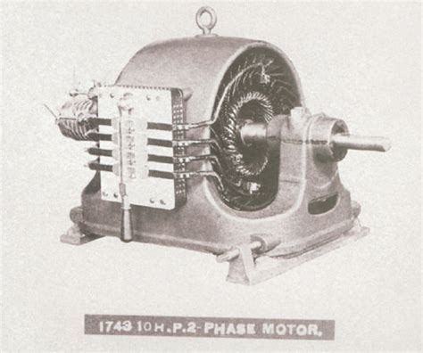 Nikola Tesla Electric Motor Ac Induction Motor Nikola Tesla Pictures To Pin On