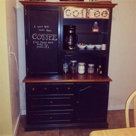 Coffee Hutch Pin By Barton On Future House Ideas