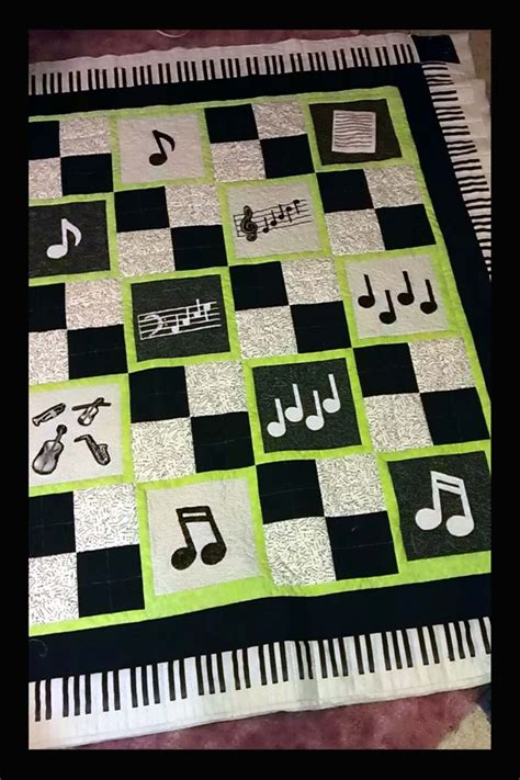 music themed quilting fabric 74 best images about quilts music theme on pinterest