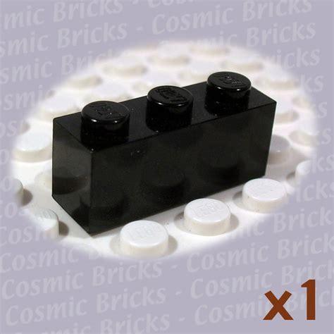 Lego Part 3622 362226 Black Brick 1x3 lego black brick 1x3 362226 3622 single n