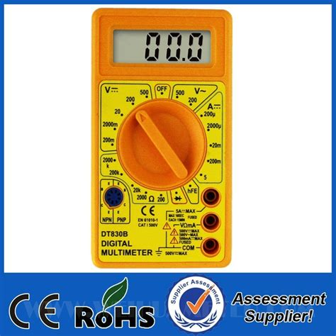 Digital Multimeter Dt 830b Limited dt 830b multimeter manual getdir