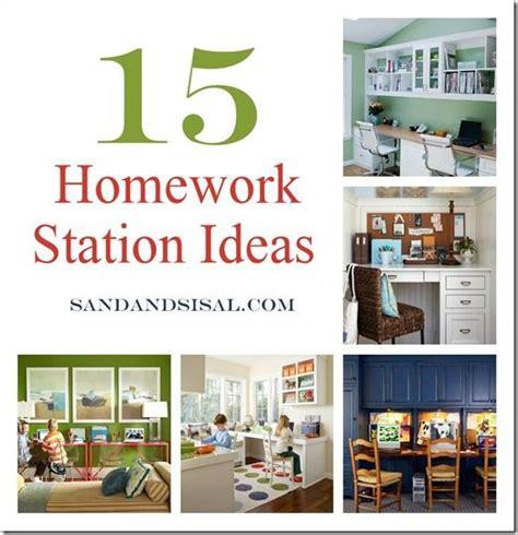 kids homework station homework station homework and sisal on pinterest