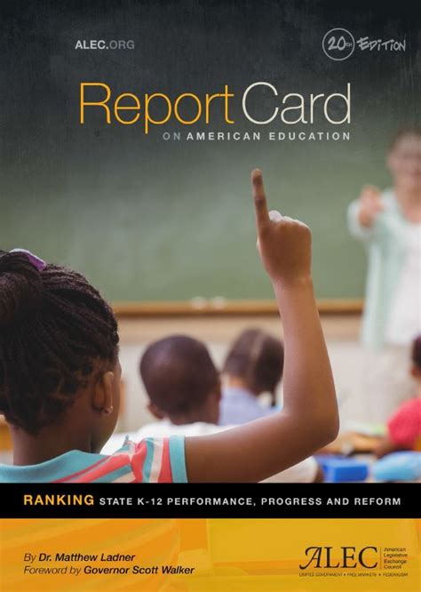 Report Card on American Education: State Education