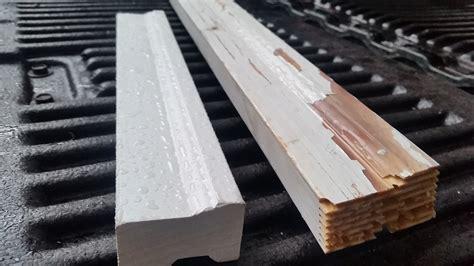 How To Install Exterior Door Trim Installing Vinyl Door Trim On The Entry Door