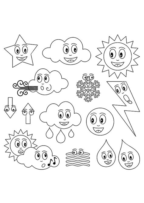 best sheets for warm weather 25 weather coloring pages coloringstar