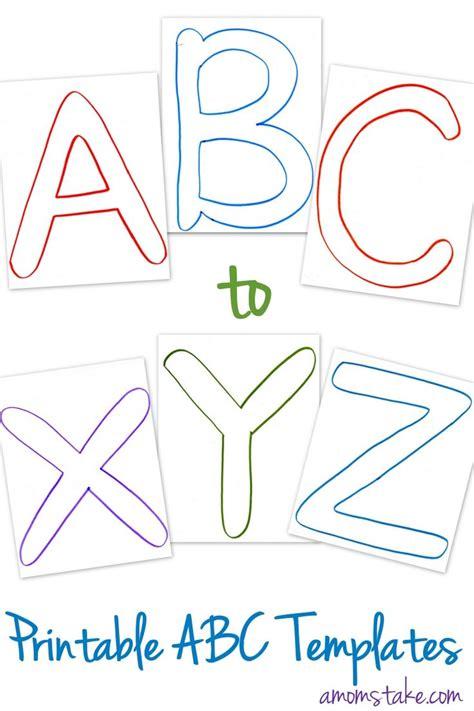 abc printable templates moms printable