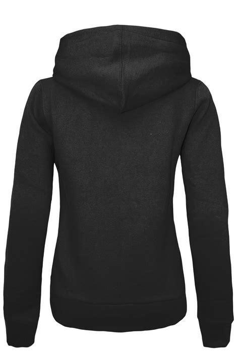 Jacket Jipper Hoodie 20 new womens plain zip hoodie sweatshirt fleece hooded jacket top size 6 20 ebay