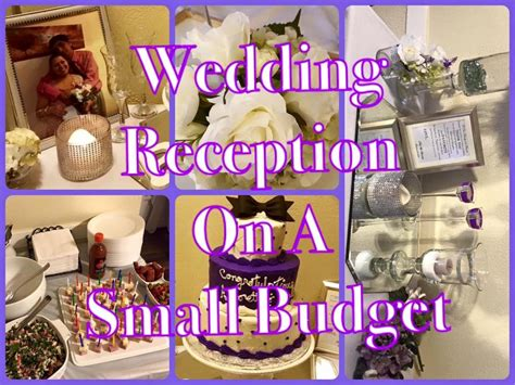 small wedding reception done for 200 00 on a budget