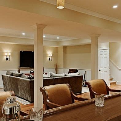 bright basement ideas 1000 images about basements bright on