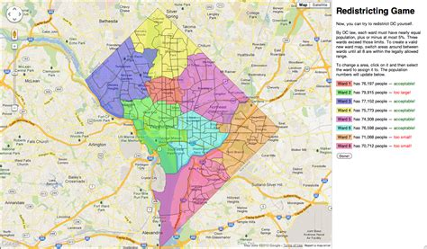 washington dc map of wards the zehnkatzen times maps redistricting the district