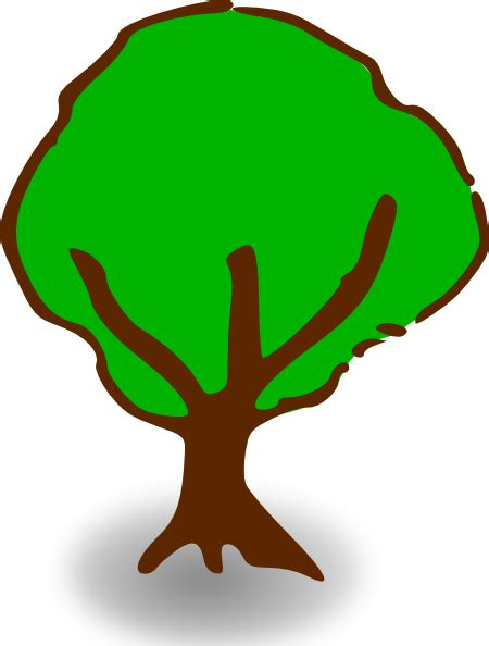 tree symbols rpg map symbols tree 5 clip art at clker com vector clip