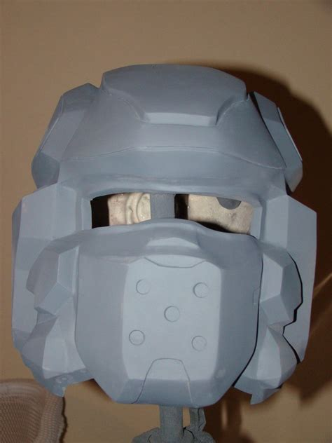 How To Make A Halo Helmet Out Of Paper - halo 4 spartan iv helmet build by hyperballistik on deviantart