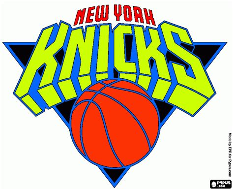 New York Knicks Coloring Page Printable New York Knicks Coloring Page New York