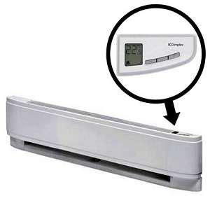 baseboard heater with fan dimplex 240v 750w lpc baseboard heater 25 inches l