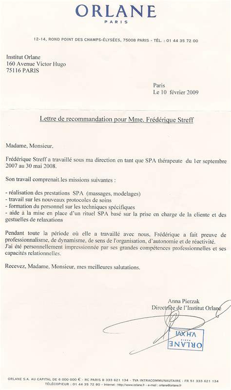 Mod Le De Lettre De Recommandation Pour Tudiant Gratuit t l charger mod article10968