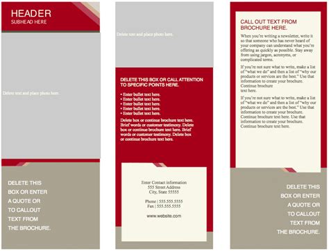 keynote brochure template 2 best and professional