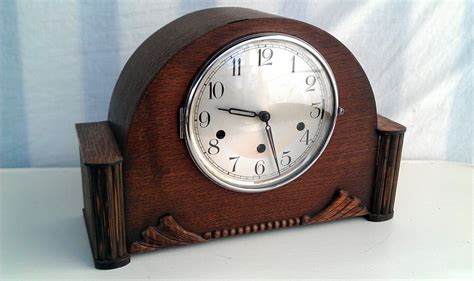 cool vintage art deco style alarm clock face and parts vintage art deco haller 9 bar mantle clock new and used