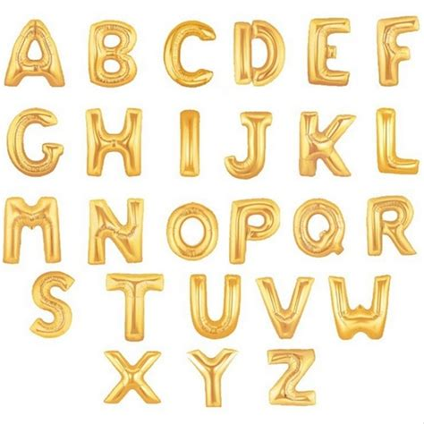 Alphabet Balloon buy wholesale gold letter balloons from china gold
