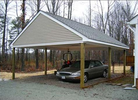 12x16 Metal Carport Wooden Carport