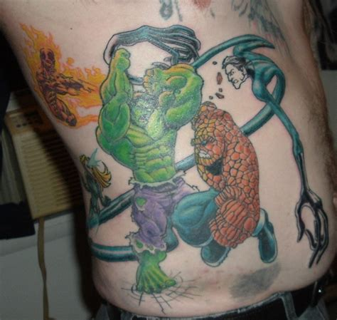 tattoo design comic book tattoos