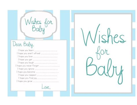 Sle Message For Baby Shower Card by Baby Shower Wish List Template 28 Images 6 Best Images
