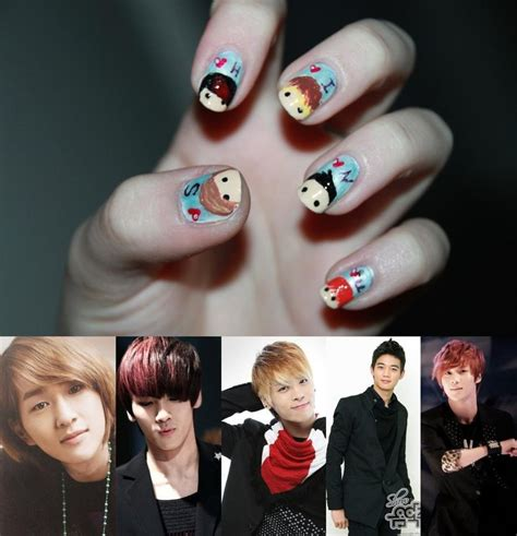 Shinee Creaive 2 forever 2ne1 korean drama and k pop nail of fame