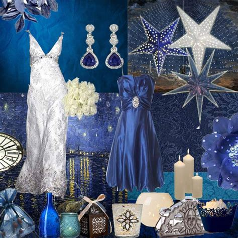 the east wedding company blue and silver