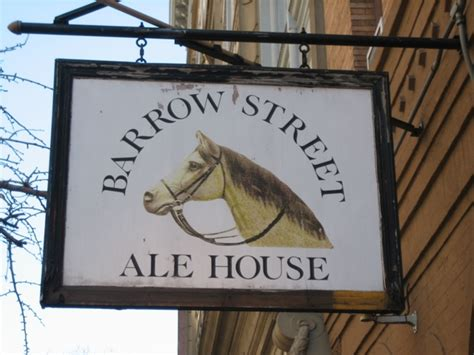 barrow street ale house barrow street ale house dbl pedestal pipe dreams nyc