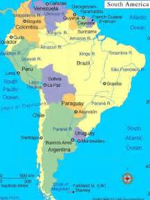 pin south american countries and capitals map on