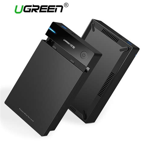 Ugreen 20611 Converter Hdd Sata 2 5 3 5 Usb 3 0 ugreen external 3 5 inch hdd ssd adapter sata to usb