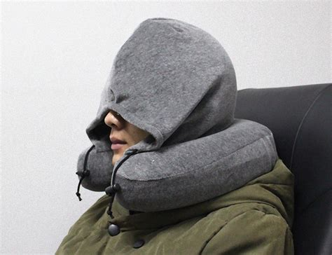 Travel Pillow Hoodie hoodie neck pillow by genuine picks review 187 the gadget flow