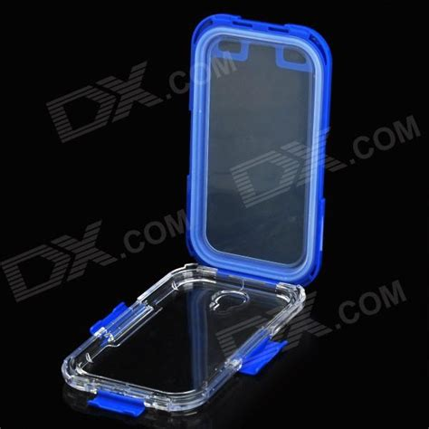 Waterproof Underwater Samsung Galaxy S7s6 Redpepperlifeproof wp 04 stylish waterproof diving for samsung galaxy s4 i9500 blue transparent