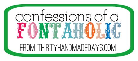 Are You A Fontaholic free fonts confessions of a fontaholic